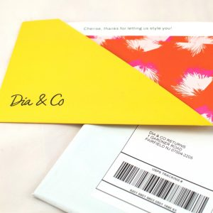 Dia&Co box packaging