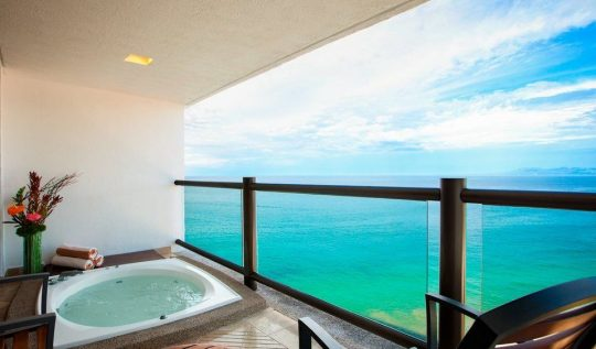 Club Level Hot Tub King Room at Hyatt Ziva Puerto Vallarta