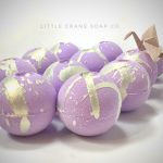 Midnight Moon, Unicorn Bath Bomb by Little Crane Soap Co on Etsy