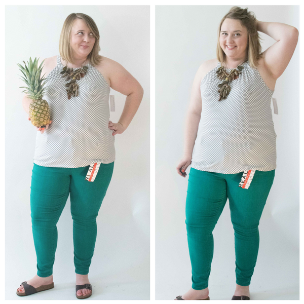 top and pants from my stitch fix box