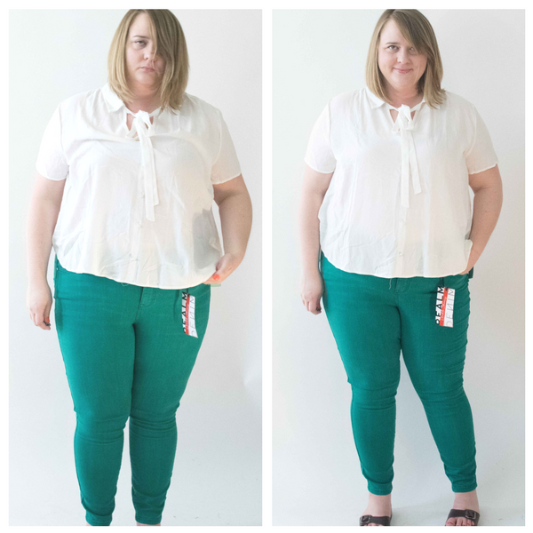 top and pants from stitch fix shipment