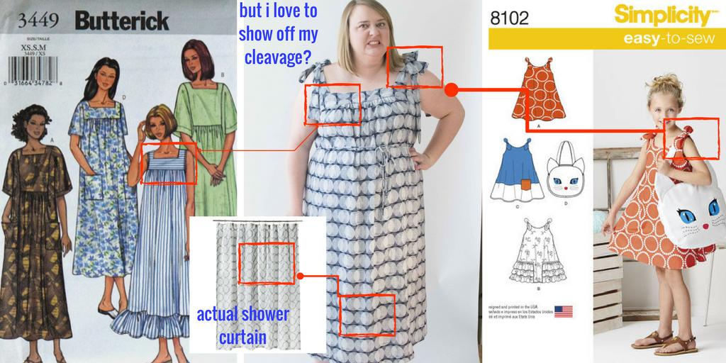this dress? just no.